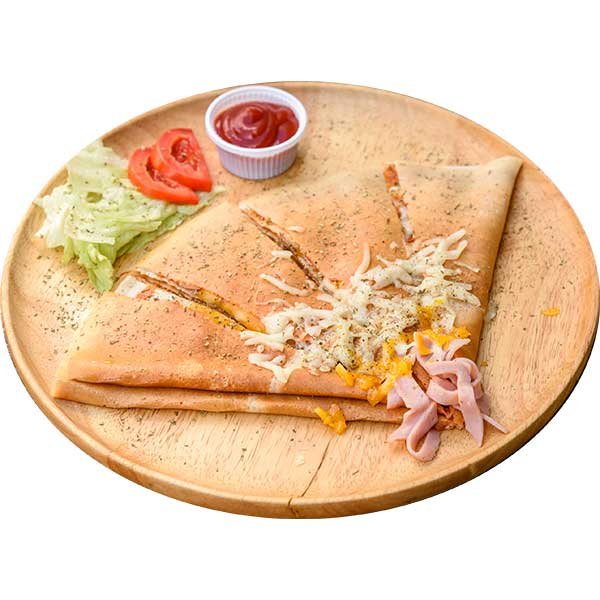 Crepe Pizza Cheese
