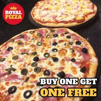 12 inch Pizza + FREE 10 inch Pizza