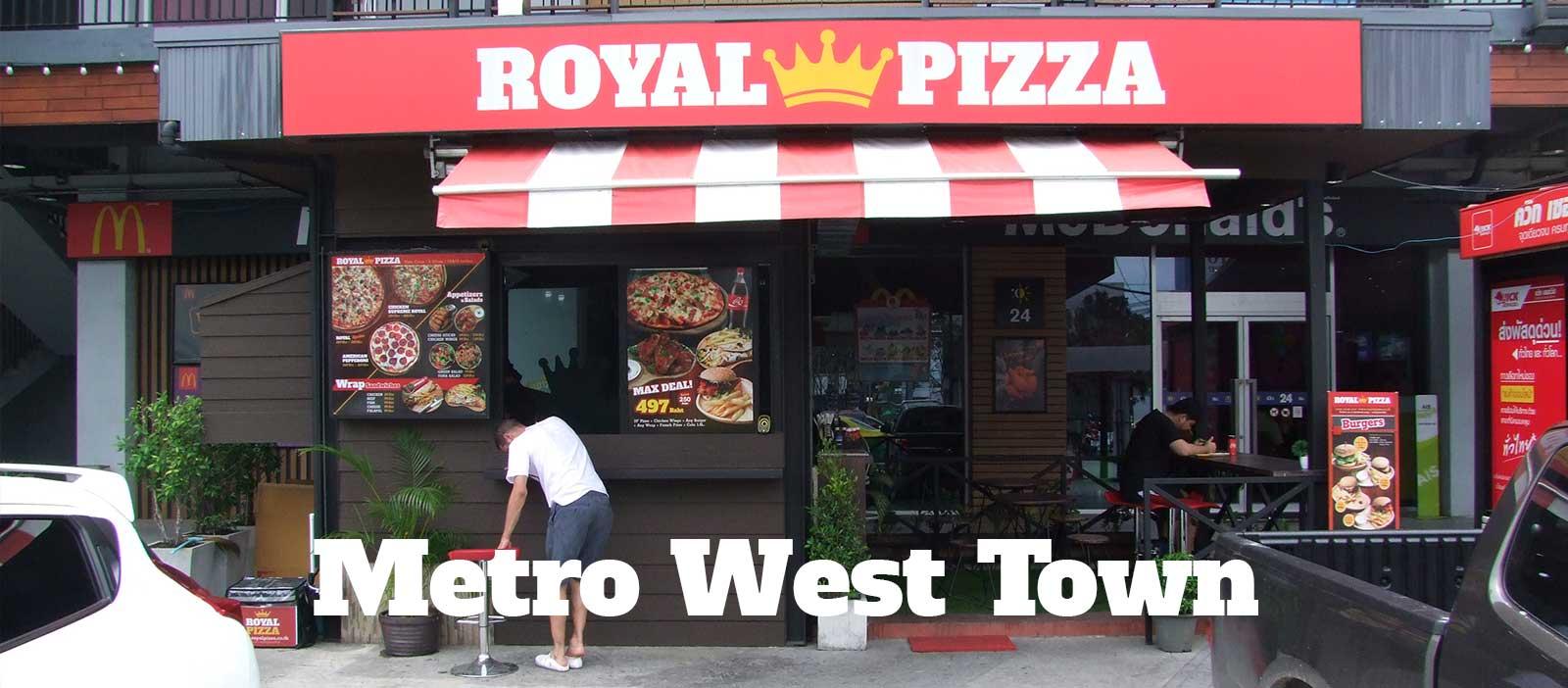 Royal Pizza Co Metro West Town Bangkok
