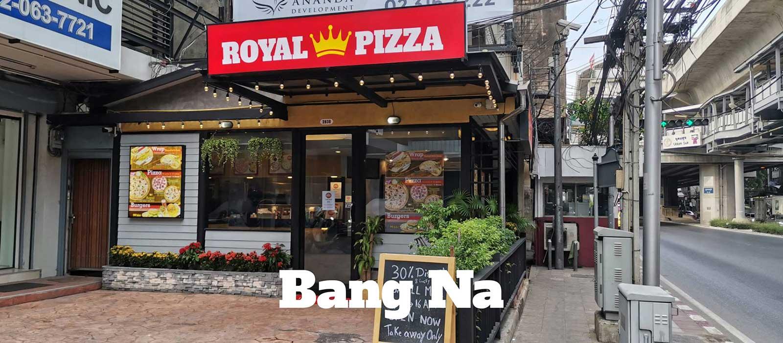 royal pizza co bangna bangkok
